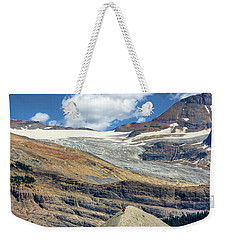 Daly Glacier And Yoho National Park Adventure Weekender Tote Bag