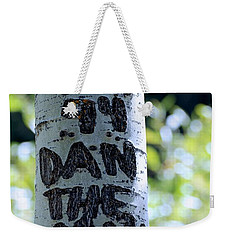 Dan The Man Weekender Tote Bag by Eric Tressler