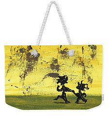 Dance Art Dancing Couple 147 Weekender Tote Bag