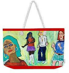 Dance Club A-go-go Weekender Tote Bag