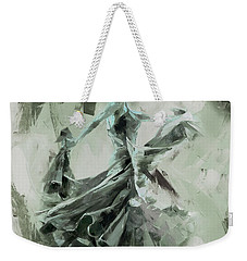Weekender Tote Bag featuring the painting Dance Flamenco Art  by Gull G