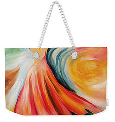Dance Me To The End Of Time Weekender Tote Bag