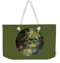 Dance Of Color And Light Weekender Tote Bag by Mary Wolf