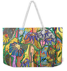 Dance Of Life Weekender Tote Bag by Tanielle Childers