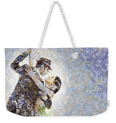 Dance Of Romance Weekender Tote Bag by Shirley Stalter
