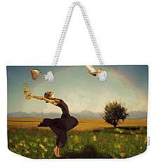 Dance Of Spring Weekender Tote Bag
