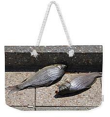 Dance Of The Dead Fish Weekender Tote Bag