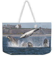 Dance Of The Dolphins Weekender Tote Bag
