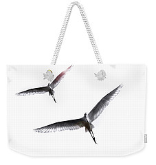 Dance Of The Egrets Weekender Tote Bag