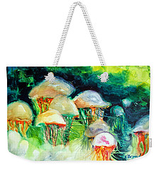 Dance Of The Jellyfish Weekender Tote Bag