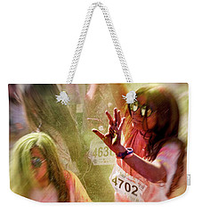 Weekender Tote Bag featuring the photograph Dance by Okan YILMAZ