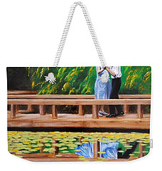 Dance Reflection Weekender Tote Bag by Jason Marsh