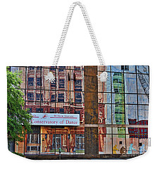 Weekender Tote Bag featuring the photograph Dance by Skip Willits