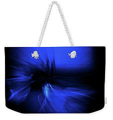 Dance Swirl In Blue Weekender Tote Bag