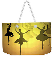 Dance With Us Into The Light Weekender Tote Bag by Joyce Dickens