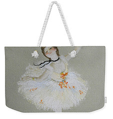 Dancer Weekender Tote Bag by Marna Edwards Flavell