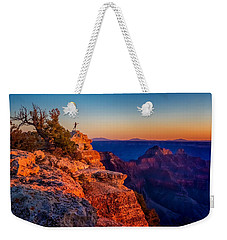 Dancer On The Ledge Weekender Tote Bag