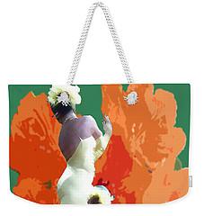 Dancer's Back Weekender Tote Bag