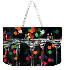 Dancers On Wine Glasses Weekender Tote Bag