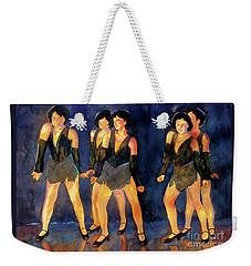 Dancers  Spring Glitz     Weekender Tote Bag
