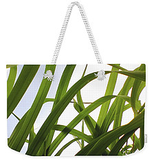 Weekender Tote Bag featuring the photograph Dancing Bamboo by Rebecca Harman