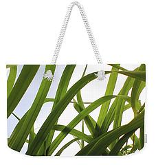 Organic Green Weekender Tote Bag