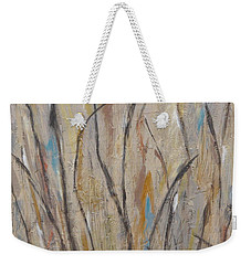 Dancing Cattails I Weekender Tote Bag by Trish Toro