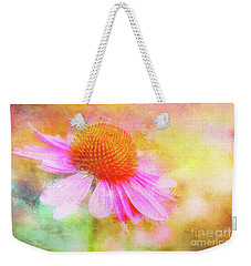 Dancing Coneflower Abstract Weekender Tote Bag