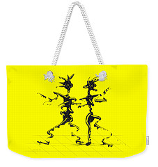 Dancing Couple 2 Weekender Tote Bag