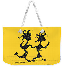 Dancing Couple 7 Weekender Tote Bag