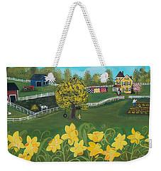 Dancing Daffodils Weekender Tote Bag