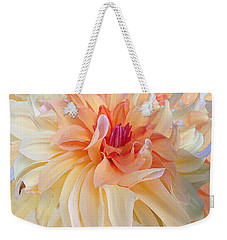 Dancing Dahlia Weekender Tote Bag
