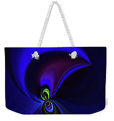 Dancing Weekender Tote Bag by Elaine Hunter