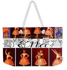 Dancing Ella  Weekender Tote Bag