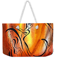 Dancing Fire I Weekender Tote Bag