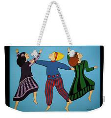 Dancing For Joy Weekender Tote Bag