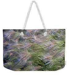 Dancing Foxtail Grass Weekender Tote Bag