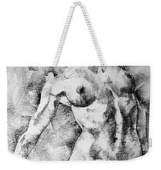 Dancing Girl Drawing Weekender Tote Bag