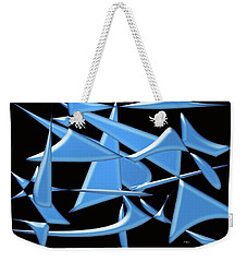 Dancing In The Ocean Weekender Tote Bag