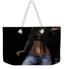 Dancing In The Rain 3 Weekender Tote Bag