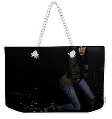 Dancing In The Rain 5 Weekender Tote Bag