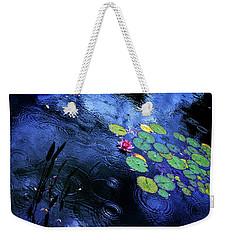 Dancing In The Rain Weekender Tote Bag by John Poon