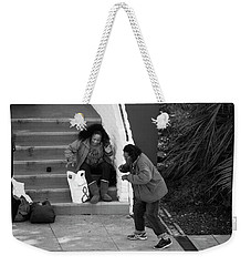 Dancing In The Street Weekender Tote Bag by Hugh Smith