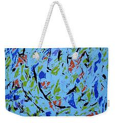 Dancing Light Weekender Tote Bag