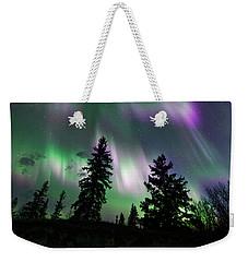Dancing Lights Weekender Tote Bag