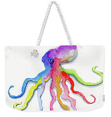 Dancing Octopus Weekender Tote Bag