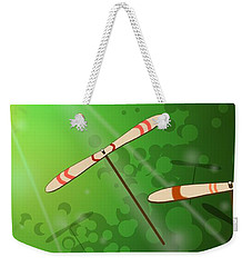Dancing On The Wind Weekender Tote Bag