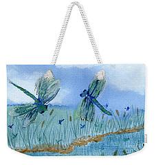 Dancing Skies Weekender Tote Bag