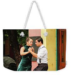 Dancing Tango Weekender Tote Bag by Silvia Bruno