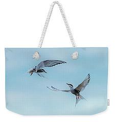Dancing Terns Weekender Tote Bag